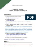 Corrige Examen Uml 2013