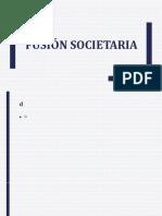 Fusión Societaria 31.5.18