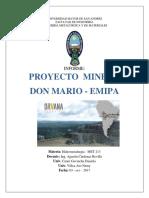Proyecto Don Mario