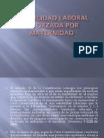 Estabilidad Laboral Reforzada Por Maternidad