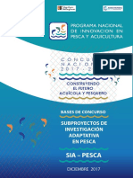 programa nacional de innovacion en pesca