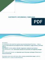 Elektrolit Disturbance