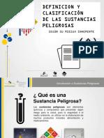 Definicion y Clasificacion de Speligrosas Colombia _dia 2