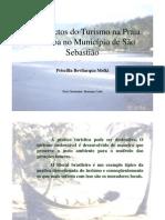 Os impactos do turismo na praia de Paúba