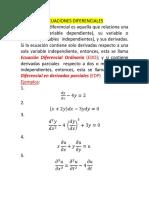 1ra Sesión Ecuaciones Diferenciales