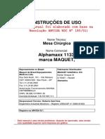 Manual de Uso Alphamaxx