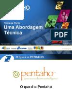 Apresentação técnica do Pentaho