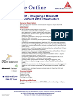 10231 Designing a Microsoft SharePoint 2010 Infrastructure
