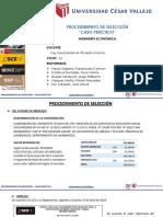 Caso_Práctico_Selección de Postor_Según Ley de Contrataciones Del Estado