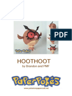 Hoothoot A4 Lined
