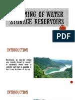 Planning-Of-Water-Storage-Reservoirs-Sarah-PPT.pptx