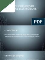 Tipos de Circuitos de Control Electrónicos