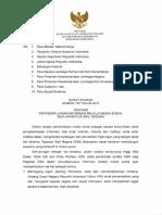 SE. 137 Thn 2018 Ttg Penyebarluasan Informasi Melalui Medsos Bagi ASN