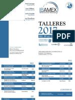 Programa Talleres IBAMEX