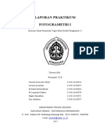 Laporan Praktikum Fotogrametri 1