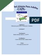 Educacion Para La Paz,,Tarea 5 (1) Jaili