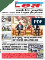 Periódico Lea Viernes 1 de Junio Del 2018