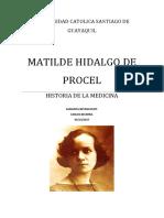 Matilde Hidalgo de Procel