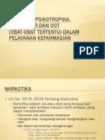 NAROTIKA, PSIKOTROPIKA, PREKURSOR,DAN OOT.pptx