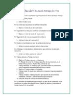 Cuarta Evaluación Samuel Arteaga Torres