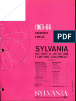 Sylvania Condensed Catalog 1965-66
