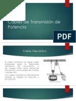 Cables de Transmisión de Potencia