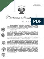Resolucion ministerial 2016_minsa