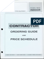 Sylvania Lighting Equipment Ordering Guide & Price Schedule Indoor 1-70