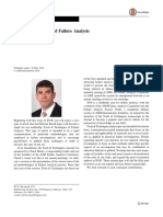 Journal of Failure Analysis and Prevention Tools & Techniques of Failure Analysis