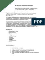 Guía de Laboratorio - Secado y Cristalización