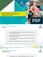 Aula 4 Tendências Pedagógicas Da Educação Física Escolar