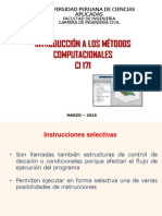 04 IMC 2016 2 Matlab Programacion Instrucciones Selectivas