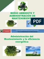 Administracion Del Mantenimiento y Medio Ambiente