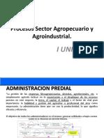 Procesos Sector Agropecuario y Agroindustrial