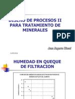 DISEÑO PROCESOS - II  INCLUYE PRE CONCENTRACION GRAVIMETRICA.ppt
