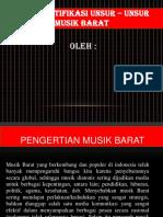 Unsur - Unsur Musik Barat