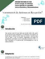 Parametros de Antenas Receptoras