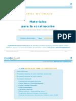 Informe Sectorial Materiales de Construccion 0