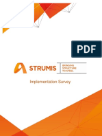 STRUMIS - Implementation Survey V2.0
