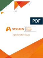 STRUMIS - Implementation Survey V2.0