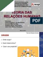[Seminário] Teoria Das Relações Humanas - Fund. ADM.