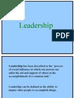 Unit 4 Leadership