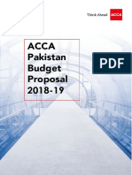 ACCA Pakistan Budget Proposal 2018-19 Ver 2