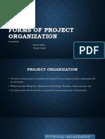 formsofprojectorganization-170813022521