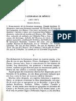 Altamirano. Literatura Nacional