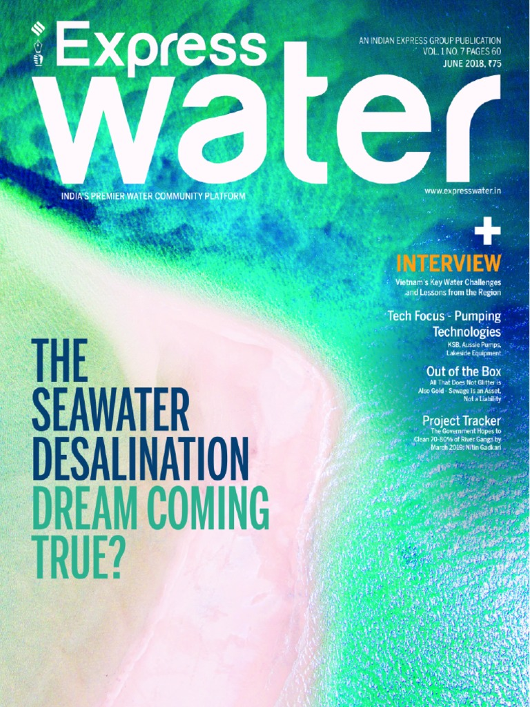 Express Water - June 2018 | Desalination | Sewage Treatment