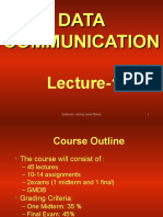 Data Communication - CS601 Power Point Slides Lecture 01