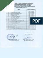 Hasil Kelulusan Seleksi Administrasi PMDP Poltekkes Kupang TA 2018