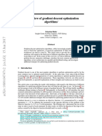 An Overview of Gradient Descent Optimization Algorithms