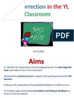 Error Correction Powerpoint